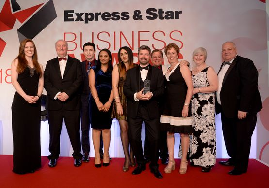 Express & Star Business Awards 2018 Image Gallery Community Champion Paycare