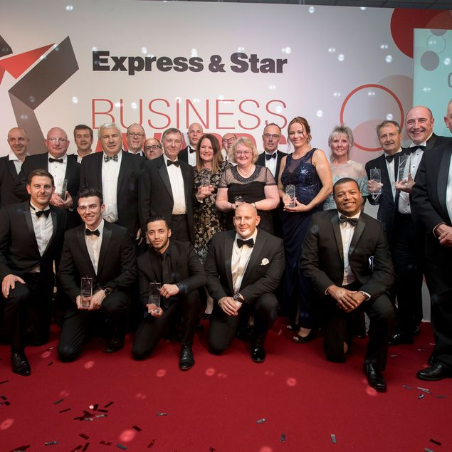 Express & Star Business Awards Evening with Winners