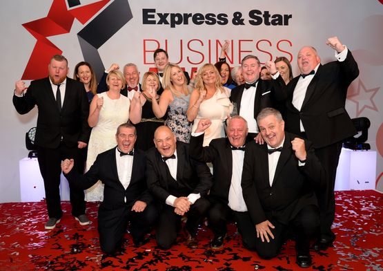 Express & Star Business Awards 2018 Image Gallery Business of the Year Pallet-Track