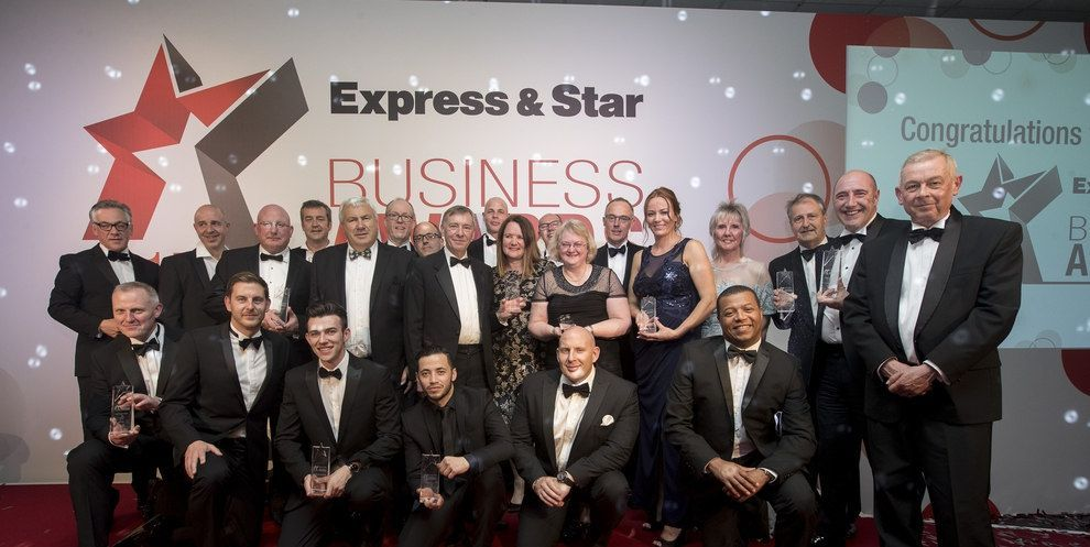 Finalists for Express & Star Business Awards