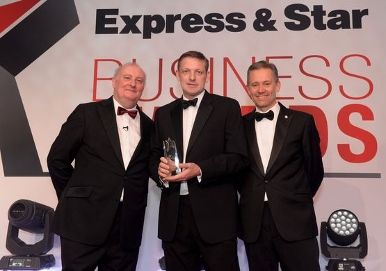 Express & Star Business Awards 2018 Image Gallery Tradesperson of the Year Simon Guy-Holt – A Chimney Sweep