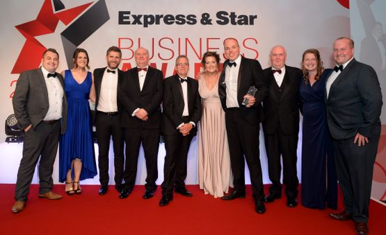Express & Star Business Awards 2018 Image Gallery Young Business of the Year H2O Hygiene